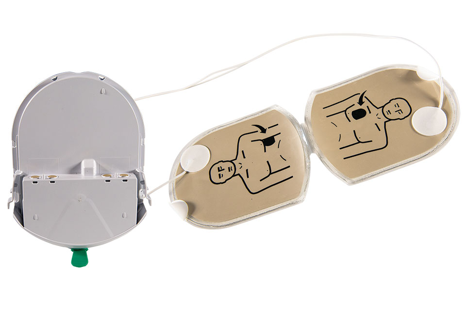 HeartSine Samaritan Adult Electrodes/Battery